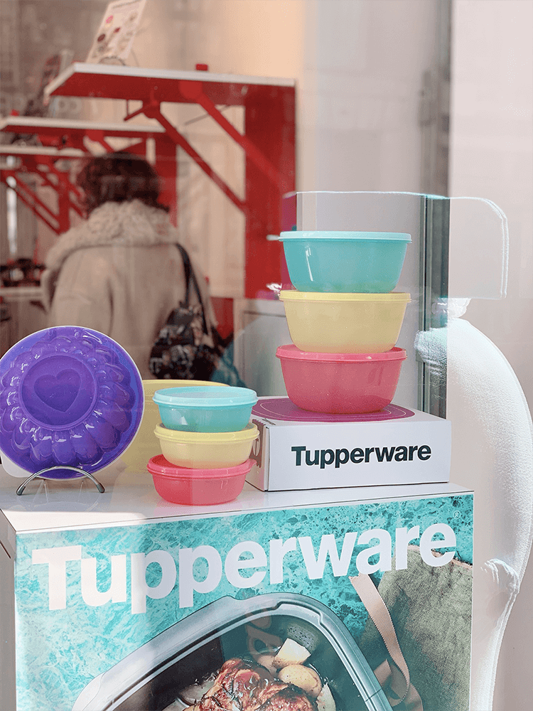 Boutique éphémère Tupperware